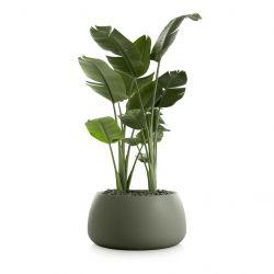Plantenpot Gobi 3 | Olijfgroen