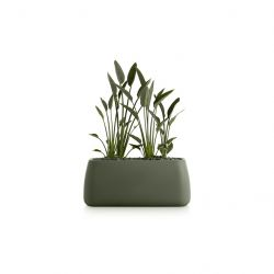 Plantenpot Gobi 5 | Olijfgroen