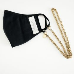Mask Necklace Chain Thick | 14K Gold Plated