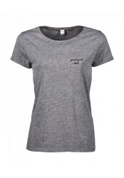 T-shirt Good Girl Club | Grey