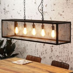 Pendant Lamp Granja 5 Lights | Black