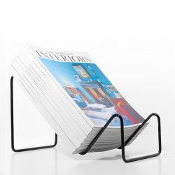 Graph Magazine Rack