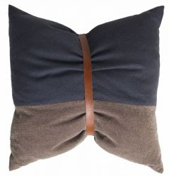 Coussin Limited No. 7 Gris/Marron