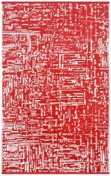Indoor/Outdoor Plastic Rug Cosmopolitan | Red/White