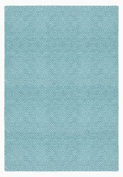 Indoor/Outdoor PET Rug Solitaire | Turquoise