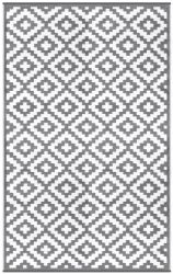 Indoor/Outdoor Plastic Rug Nirvana | Grey