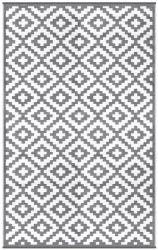Indoor/Outdoor Plastic Rug Nirvana | Grey