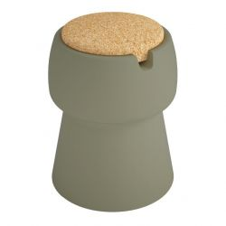 Champ Stool | Green & Cork