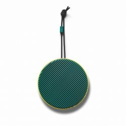 Portable Bluetooth Loudspeaker City | Lemon Green