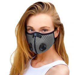 Gesichtsmaske Breezy   Grau
