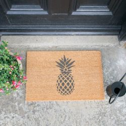 Grey Doormat | Pineapple