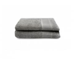 2-er Set Handtücher Gigi 50x100 cm | Grau