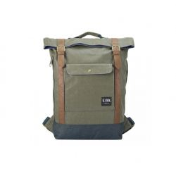 Backpack Balthazar | Green & Navy