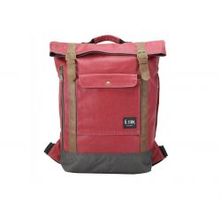 Backpack Balthazar | Red & Black