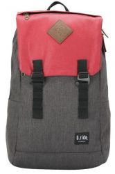 Backpack Albert | Black & Red