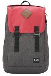 Backpack Albert | Black & Red