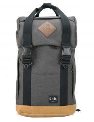 Backpack Arthur | Black and Camel