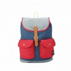 Backpack Chloe | Navy Red