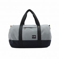 Roll Bag Clement | Grey Black