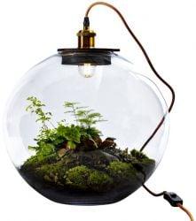 Tafellamp met DIY Plant