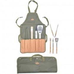 Apron with BBQ Tools
