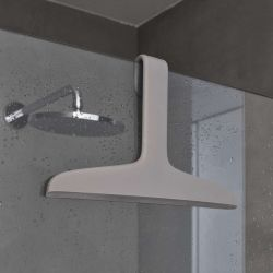 Shower Hanger/Swiper Tito | Dove Grey
