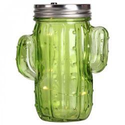 Kaktuslampionglas | Hellgrünes Glas