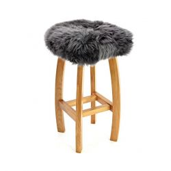 Gwyn Baa Bar Stool | Slate Grey