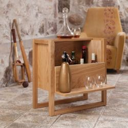 NewEst Mini Bar | Oak
