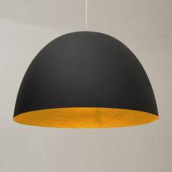Pendant Light H2O Matt | Black/Orange