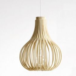 Hanglamp Bulb | Naturel