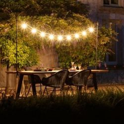Lichtsnoer Light my Table | Zwart