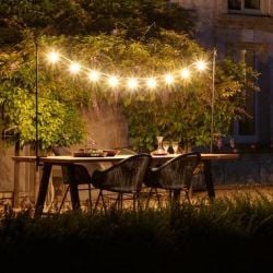 Light String Light my Table | Black