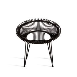 Outdoor Lounge Chair Roy | Black