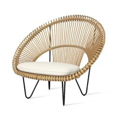 Outdoor Cocoon Chair Roy | Camel
