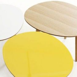 Morris Coffee Table Yellow