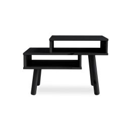 Table d'Appoint Hako | Noir