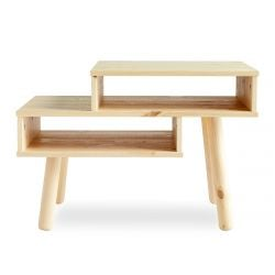 Side Table Hako | Light Wood