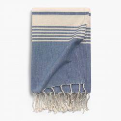 Strandtuch Azur | 180 x 100 cm | Blau