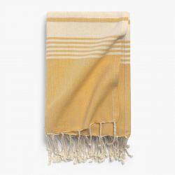 Strandtuch Azur | 180 x 100 cm | Mustard Gelb