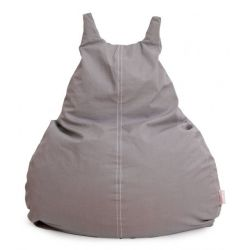 HappyCat Bean Bag Organic Cotton Large | Grey