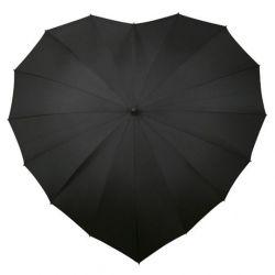 Regenschirmherz | Schwarz