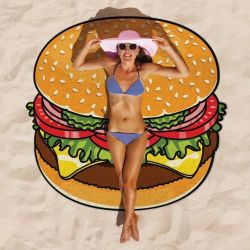 Beach Towel | Hamburger