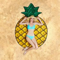 Beach Towel | Pineapple