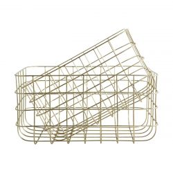 Simply Basket Gold High | Satz/2