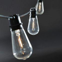 Lichterketten Schwarz Funktion | 10 Lange Led-Lampen
