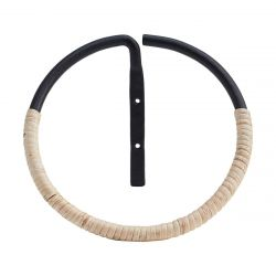 Towel Ring Orbit | Rattan