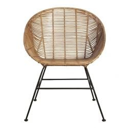 Lounge Stoel Retro | Naturel