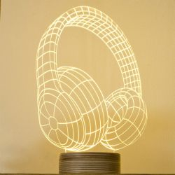 Bulbing Lamp #Headphones