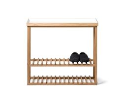 Storage Table Hello | White